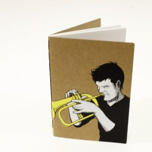 cuaderno trompeta